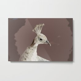 The White Queen Metal Print