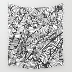 Black & White Jungle #society6 #decor #buyart Wall Tapestry