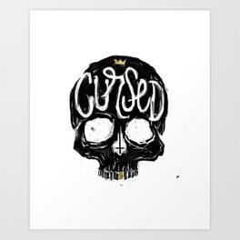 Cursed Art Print