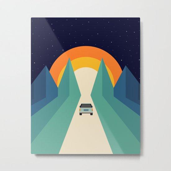 Wonderful Trip Metal Print