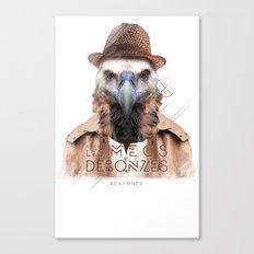 Vautour Canvas Print