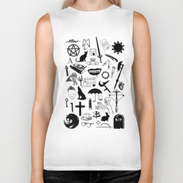 Buffy Symbology, Black Biker Tank
