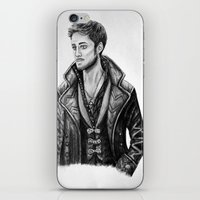 captain hook iPhone & iPod Skins featuring Captain Hook by Olivia Nicholls-Bates