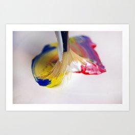 Paint Brush 2 Art Print
