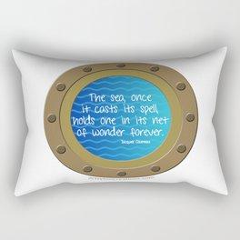 Untitled Ocean Rectangular Pillow