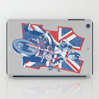 daredevil iPad Cases featuring Who's your favourite Daredevil by Gimetzco's Damaged Goods
