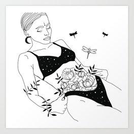 The internal rosary Art Print
