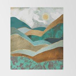 Golden Hills Throw Blanket