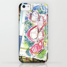 Maps and Lines iPhone 5c Slim Case
