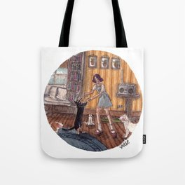 Dance Partner Tote Bag