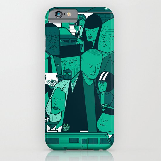Breaking Bad (green version) iPhone & iPod Case