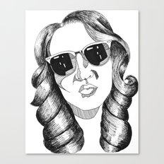 audrey gardrel Canvas Print