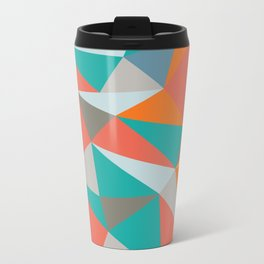 Summer Deconstructed Metal Travel Mug