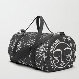 Live by the Sun, Love by the Moon Duffle Bag