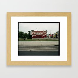 YOU CAN IF YOU WANT TO Framed Art Print