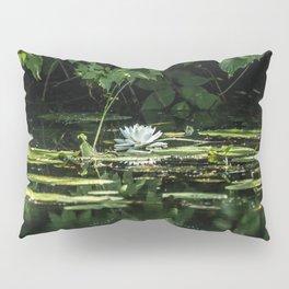 Lone Lily Pad Pillow Sham