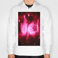 hot pink Hoodies featuring A Star is Born : Hot Pink Galaxy by GalaxyDreams