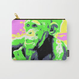 Pop Art Young Chimp Carry-All Pouch