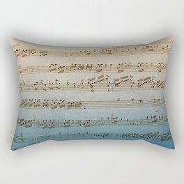Handwritten Mozart Rectangular Pillow
