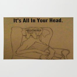It's All In Your Head Rug