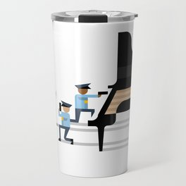 Freeze! Travel Mug
