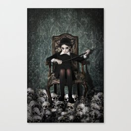 Queen of Skulls Canvas Print