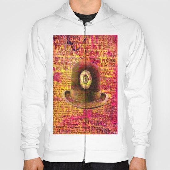 Mystical bowler hat Hoody