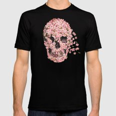 A Beautiful Death  MEDIUM Black Mens Fitted Tee
