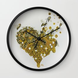 Honey, Keep It Together Wall Clock