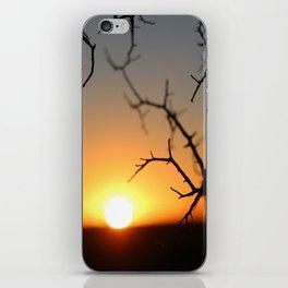 ball of fire iPhone Skin