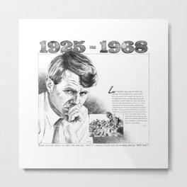 Robert Kennedy 50-Year Anniversary Metal Print