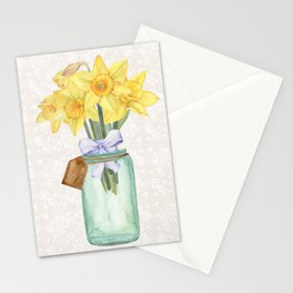 Daffodils Stationery Cards