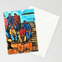 Lobster Fishermen - Digital Remastered Edition Stationery Cards