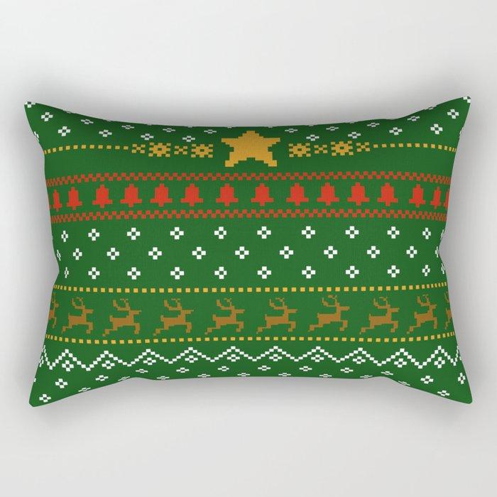 Christmas is coming Rectangular Pillow