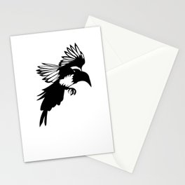 magpie 3 Stationery Cards
