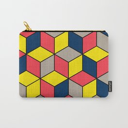 Geometric Abstract Design Pattern Carry-All Pouch