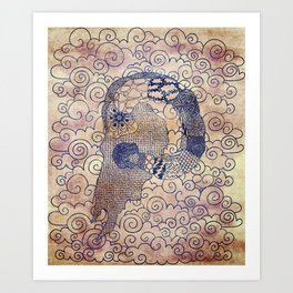 Ramtangle Art Print