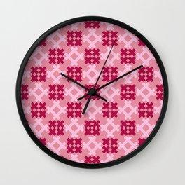 Aztlan Cuauhtli 03 Wall Clock