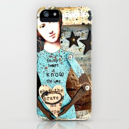 In my Heart I know the Way iPhone Case