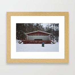 Summer Concert Series Framed Art Print