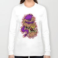 bebop Long Sleeve T-shirts featuring Bebop is infected! by DesecrateART (Infected)