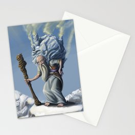 The Ice Old Man Stationery Cards