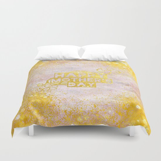 Happy mother´s day  Duvet Cover