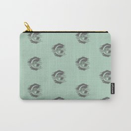 Woman In The Moon (Sage Green) Carry-All Pouch