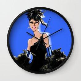 Little Black Dress no.5 Wall Clock