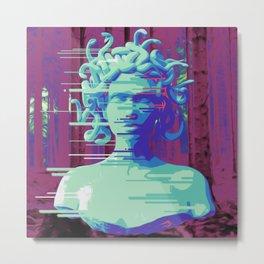Medusa by Evolve™ Metal Print
