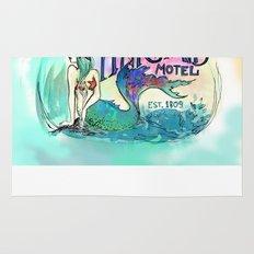 Mermaid Motel Rug