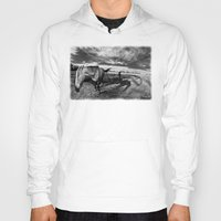 farm Hoodies featuring Farm Horse by Jennifer Rose Cotts Photography