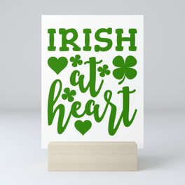 Irish At Heart Mini Art Print