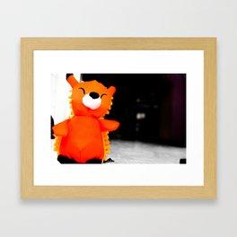 Fox in a Big World Framed Art Print